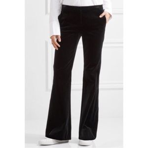 Theory Brown Velvet Trousers